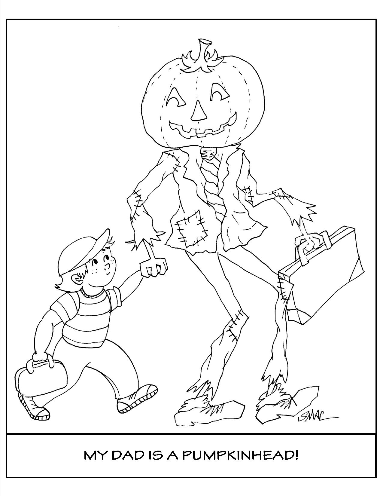 Halloween Coloring Pages - S.Mac's Place to Be